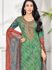 Multicolor Printed Salwar Suit