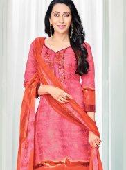 Amazing Pink color salwar suit.