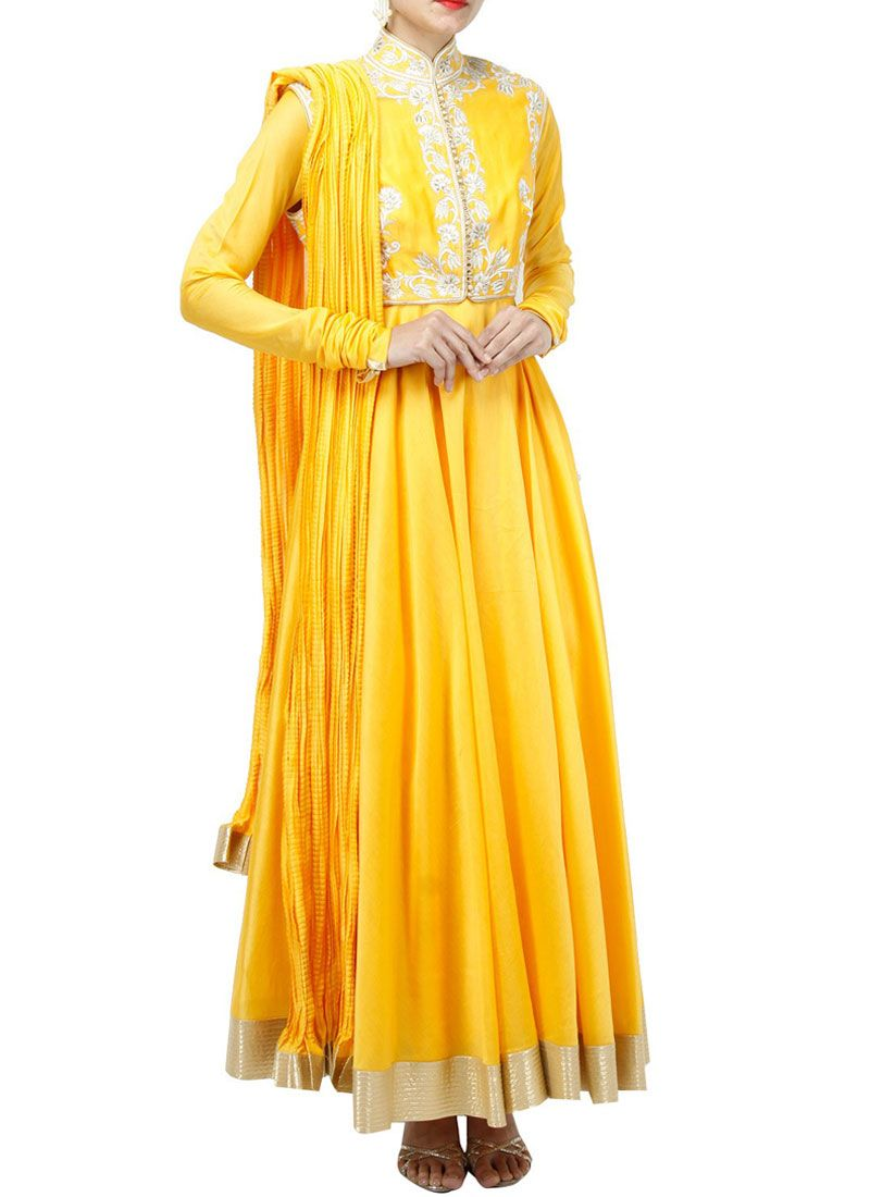 Art Silk Anarkali Suit