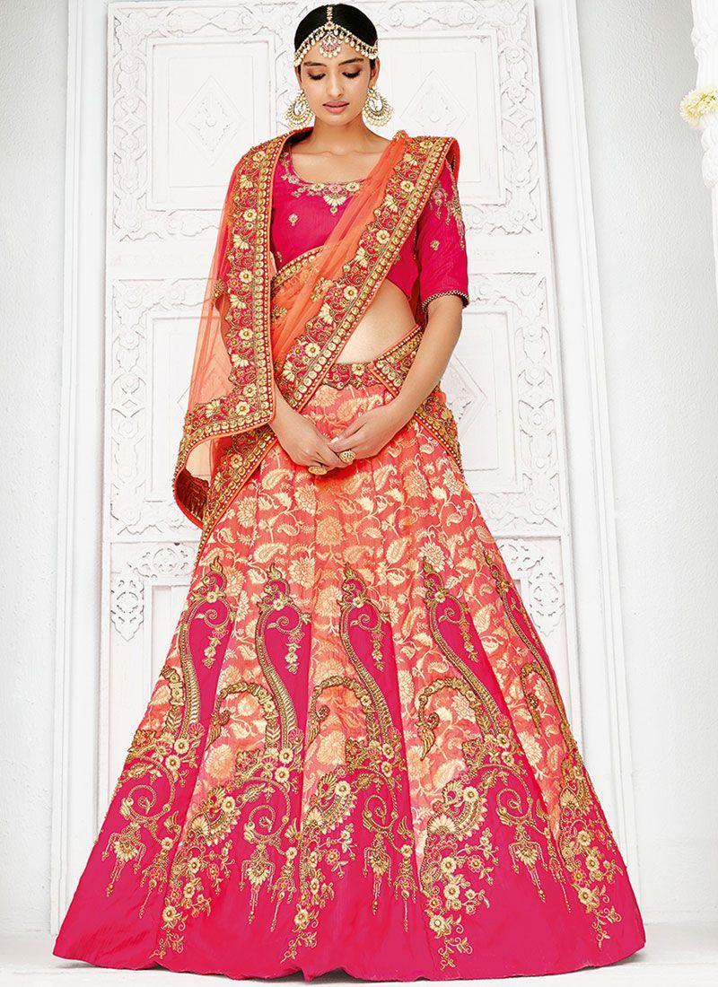 b983676958 Art Silk Bridal Lehenga Choli buy online -