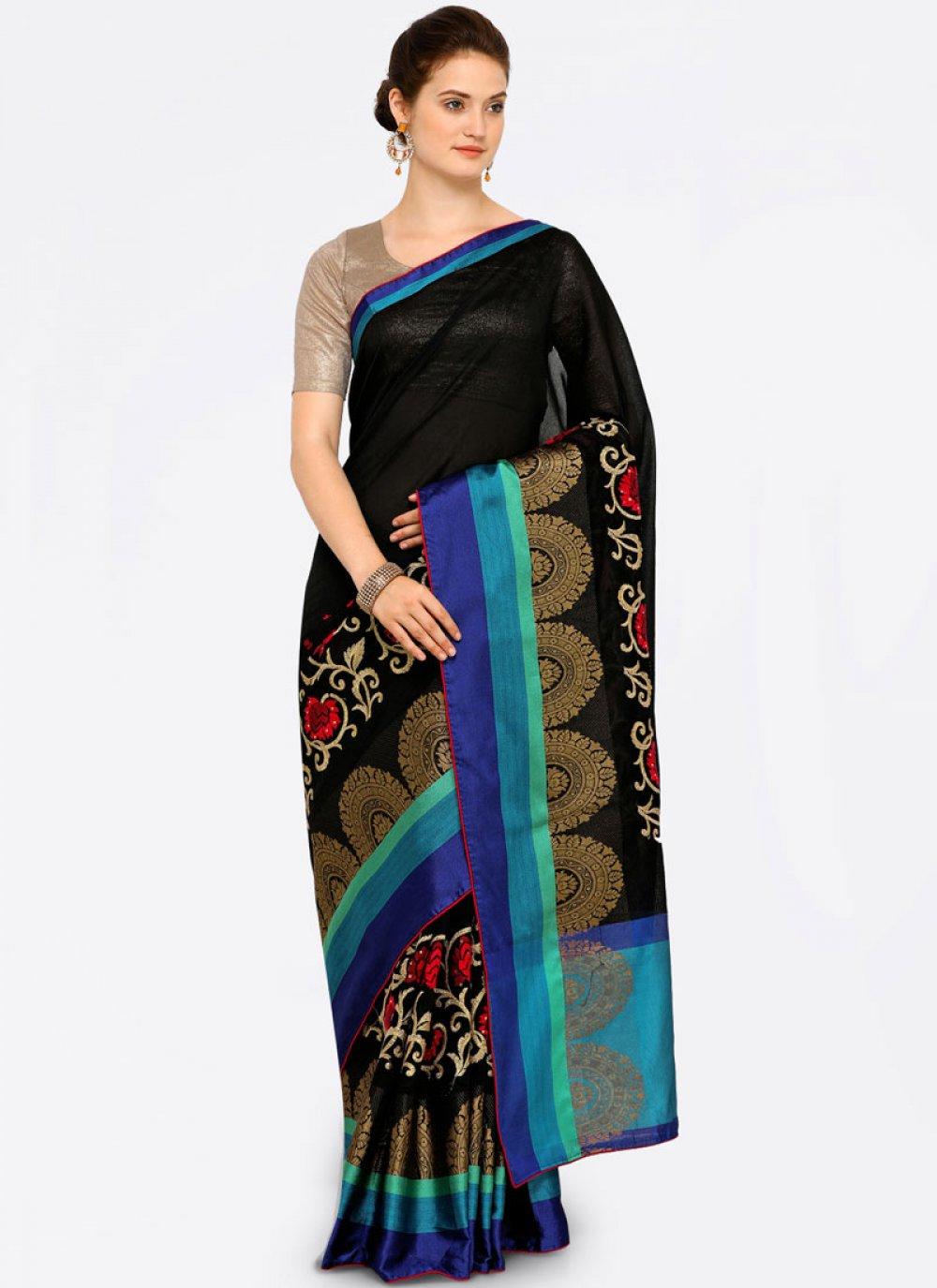 Art Silk Cotton Casual Saree