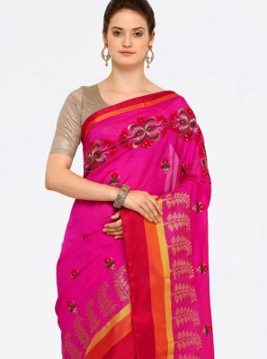 Art Silk Cotton Casual Saree