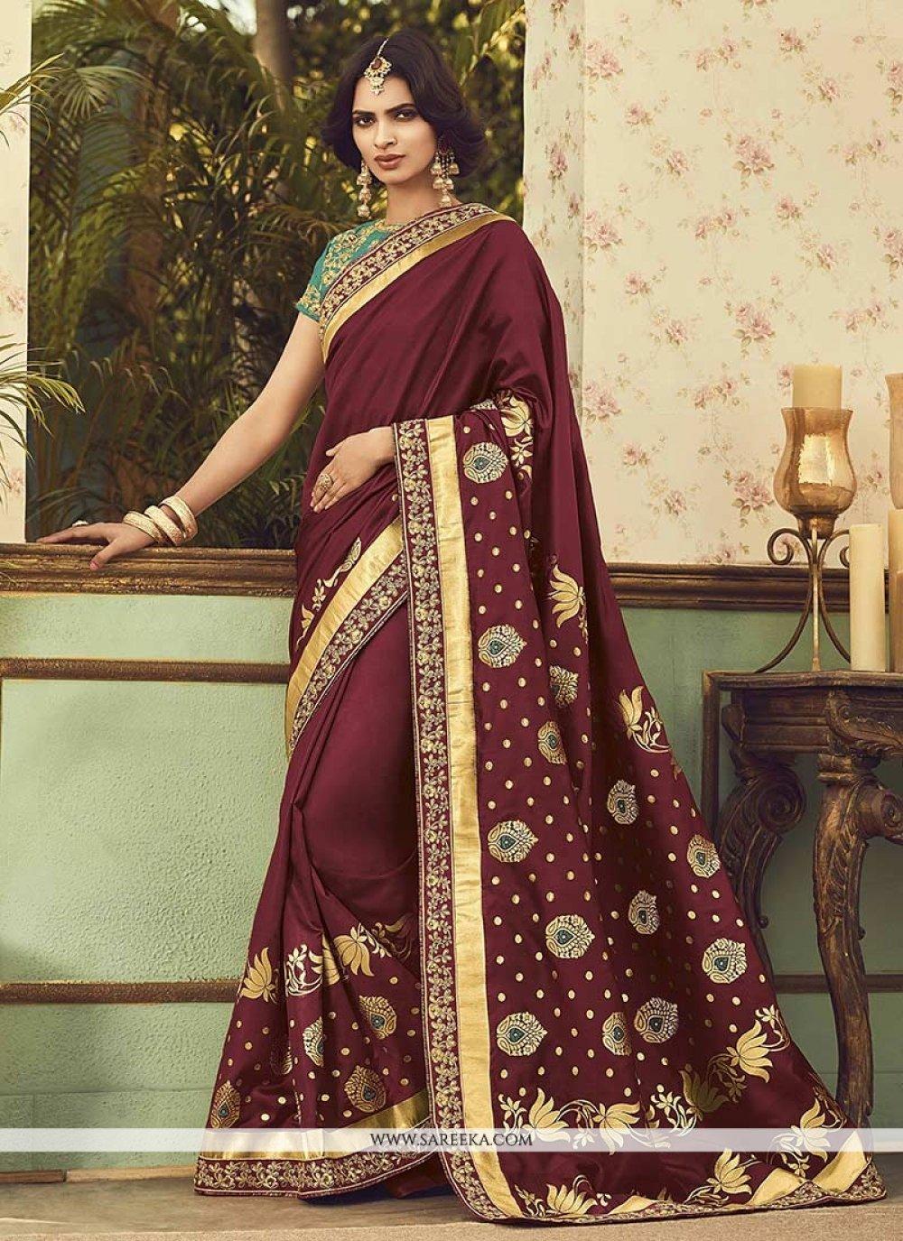 Art Silk Designer Traditional Saree