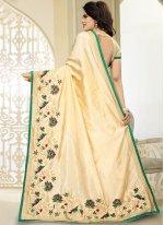 Art Silk Embroidered Work Designer Traditional Saree