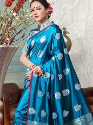 Art Silk Festival Traditional  Saree