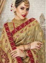 Art Silk Gold Weaving Designer Traditional Saree