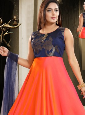 Art Silk Lace Salwar Kameez