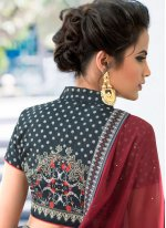 Art Silk Multi Colour Lehenga Choli