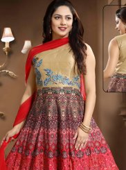 Art Silk Party Salwar Kameez