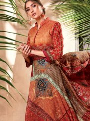 Art Silk Print Party Wear Kurti