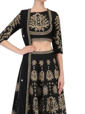 Art Silk Sangeet Lehenga Choli