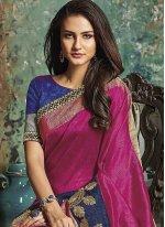 Art Silk woven Work Traditional  Saree