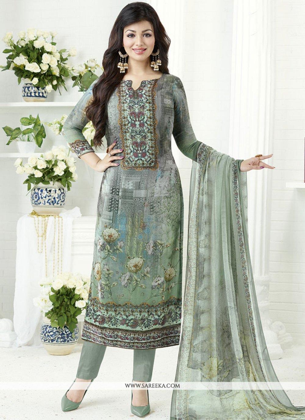Ayesha Takia Multi Colour Churidar Designer Suit