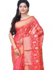 Banarasi Silk Rani Classic Designer Saree