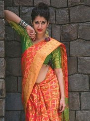 Banarasi Silk Weaving Work Classic Saree