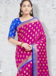 Banarasi Silk woven Work Casual Saree