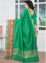 Banarasi Silk woven Work Traditional  Saree