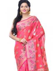 Banarasi Silk Zari Rani Classic Designer Saree