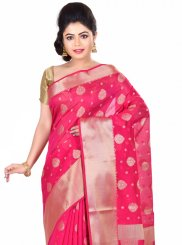 Banarasi Silk Zari Work Designer Traditional Saree