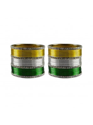 Bangles Stone Work in Multi Colour