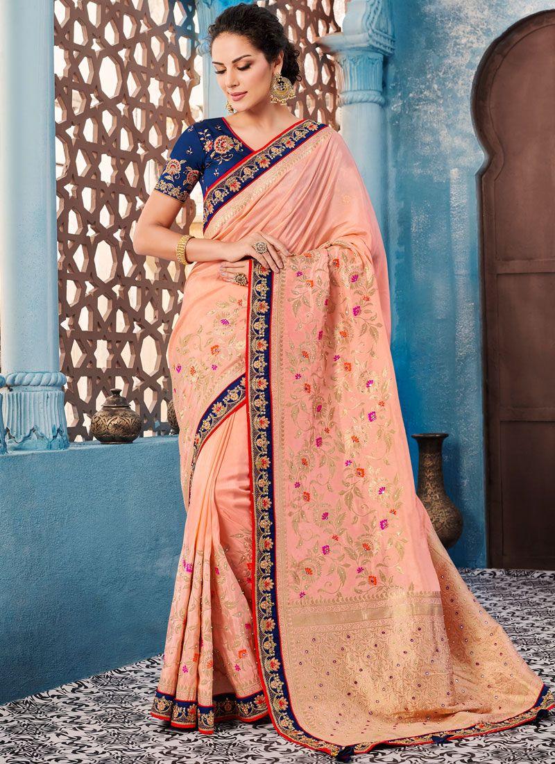 Banglori Silk Wedding Trendy Saree