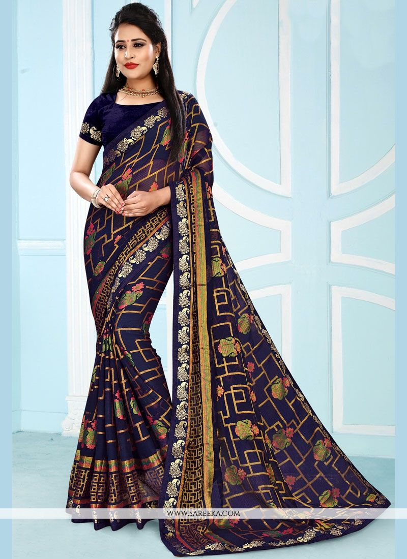 Black Casual Saree