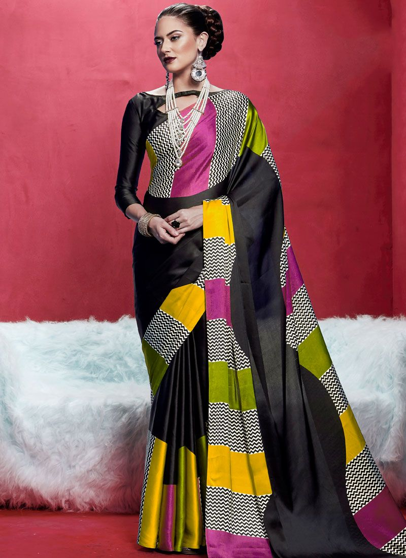 Black Casual Saree