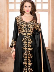 Black Resham Work Designer Suit
