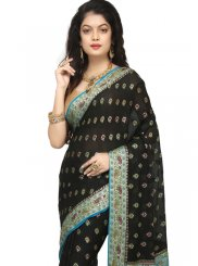 Black Weaving Classic Designer Saree