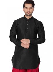 Black Wedding Kurta Pyjama