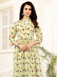 Blended Cotton Party Wear Kurti