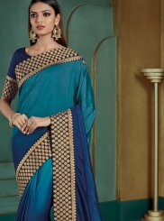 Blue Silk Festival Classic Saree