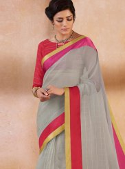 Border Casual Saree