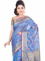 Chanderi Classic Designer Saree