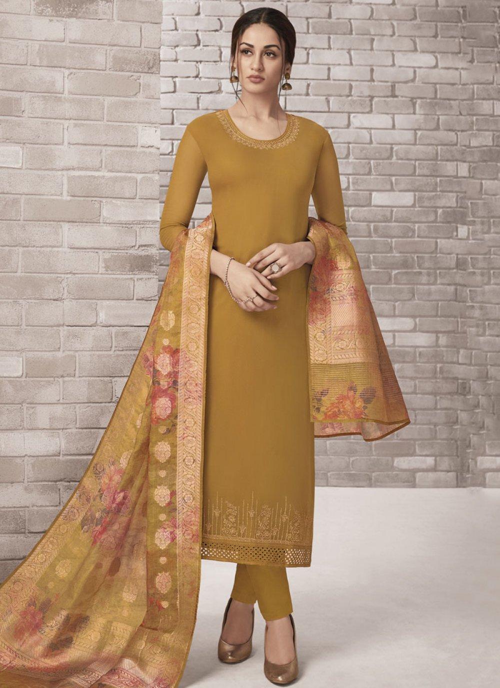 Churidar Designer Suit For Party