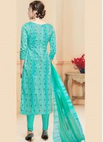 Cotton   Ceremonial Churidar Salwar Kameez