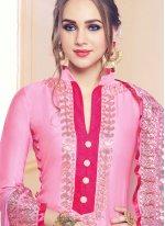 Cotton   Palazzo Designer Suit in Pink