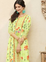 Cotton   Digital Print Work Palazzo Salwar Suit