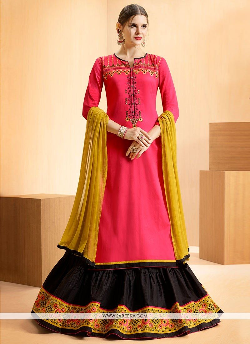 Cotton   Long Choli Lehenga
