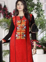 Cotton   Party Designer Straight Suit