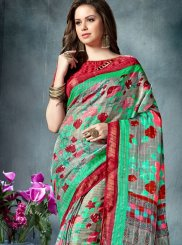 Cotton   Print Work Printed Saree