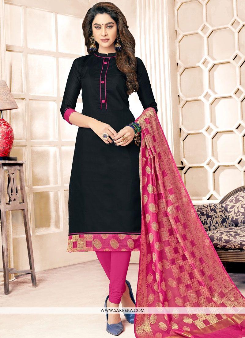 Buy Cotton Salwar Kameez 75069
