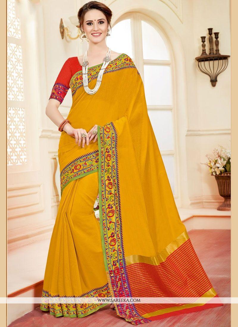 Cotton Silk Casual Saree