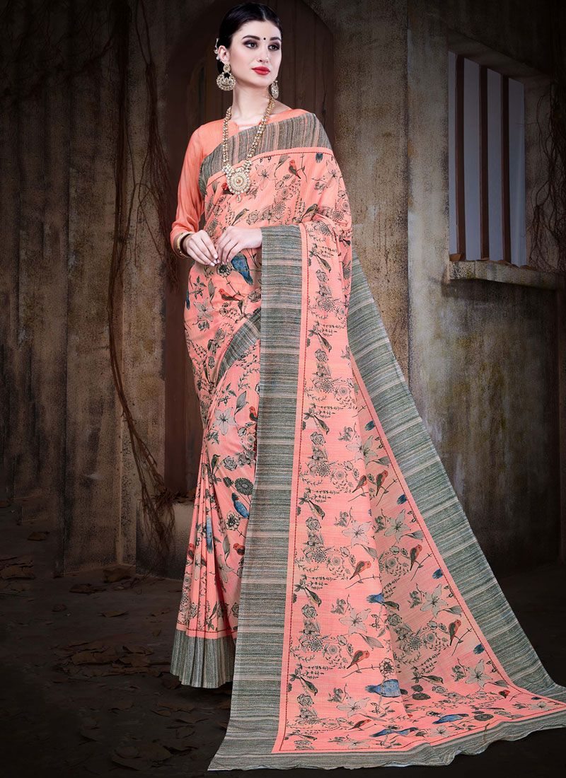 2f9f21b5c7 Shop Cotton Silk Multi Colour Contemporary Saree Online : 79017 -