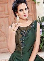 Cutdana Work Designer Gown