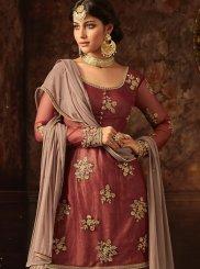 Designer Palazzo Salwar Suit For Mehndi