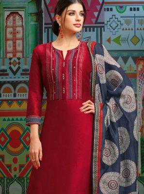 Designer Palazzo Suit For Festival