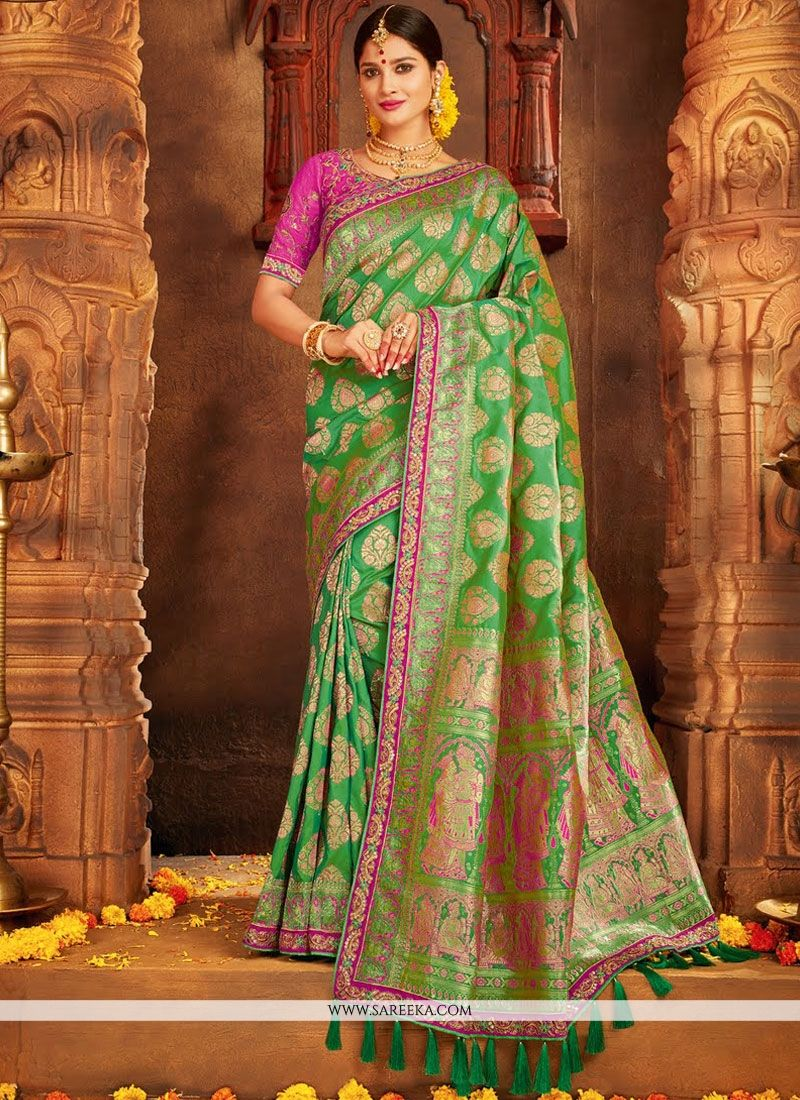 Designer Traditional Saree For Bridal