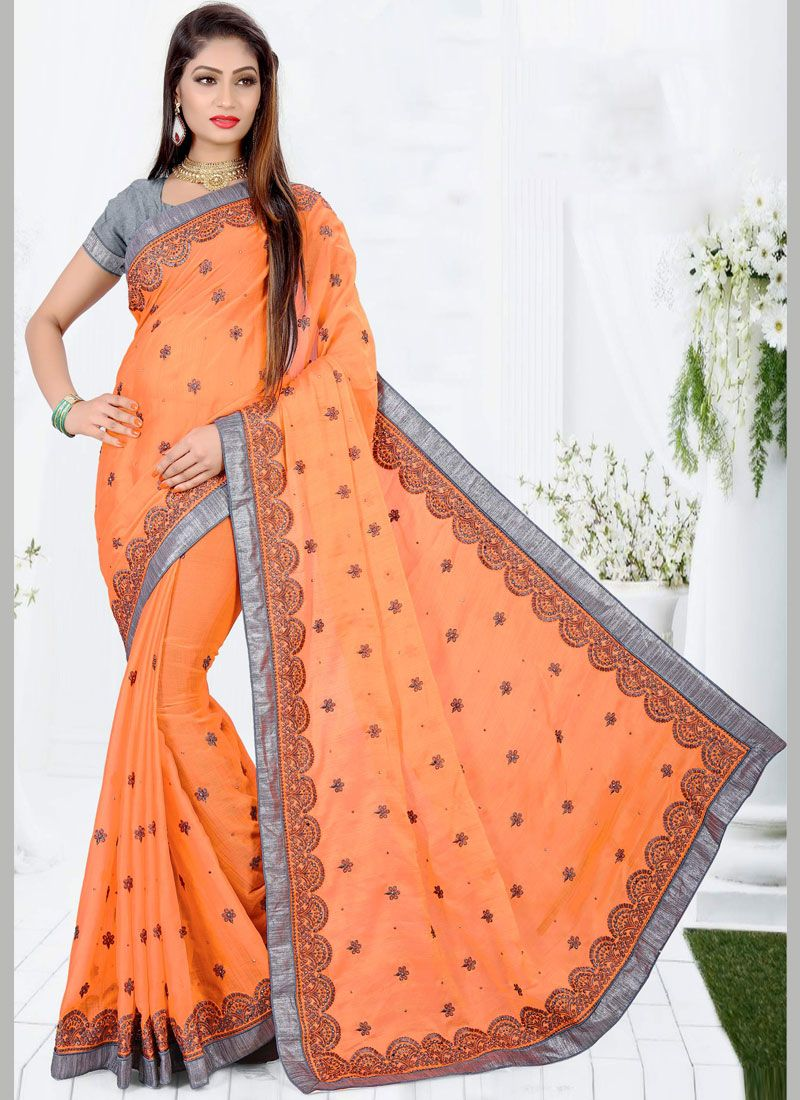Designer Traditional Saree For Wedding