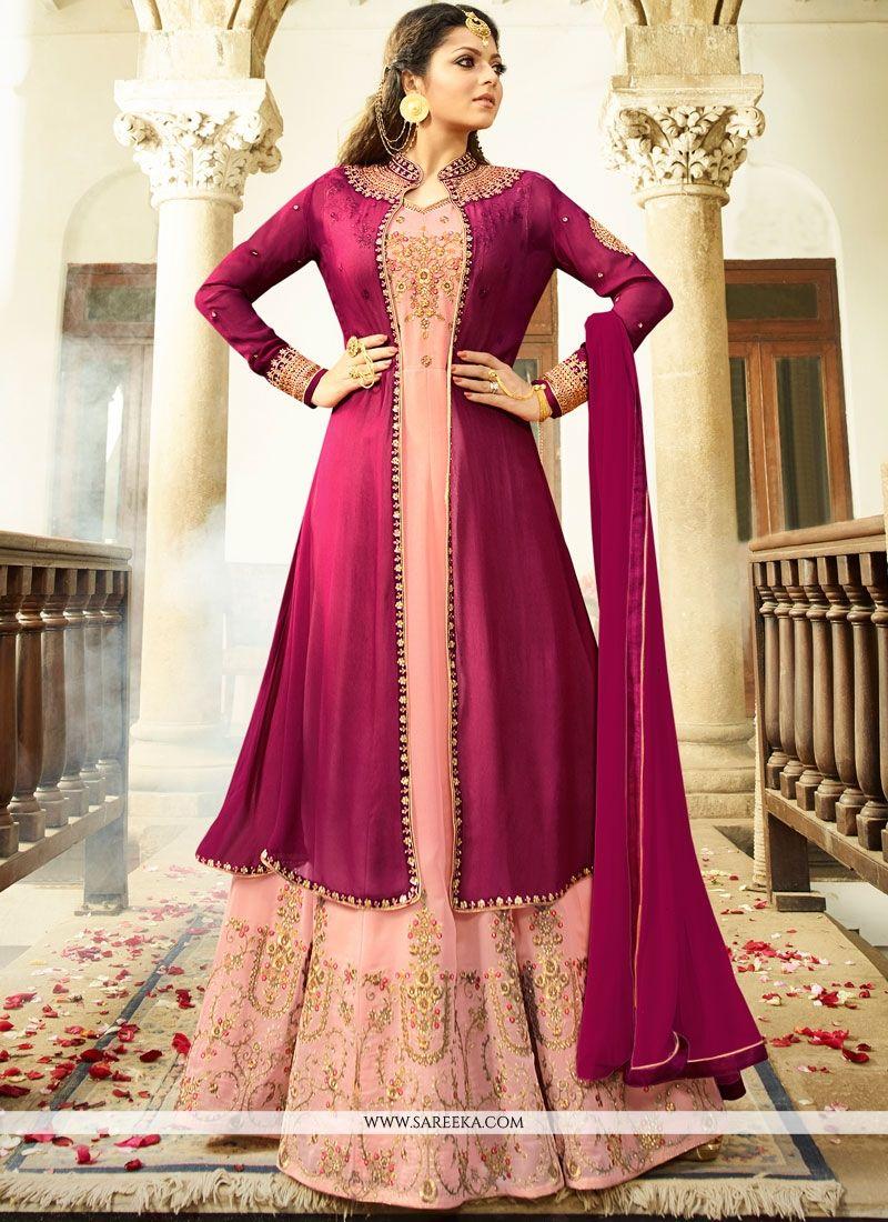 978442420d Buy Drashti Dhami Zari Work Floor Length Anarkali Suit Online : 73709 -